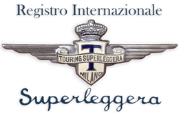Registro Internazionale Touring Superleggera Logo